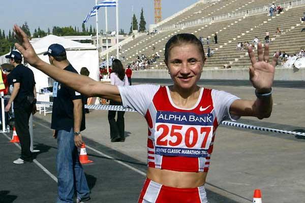 Nadja Wijenberg (NED) (AFP/Getty Images)