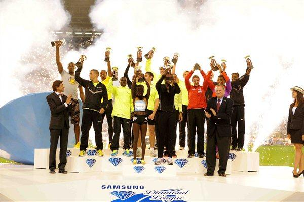 The Diamond Race winners in Brussels (Jiro Mochizuki)