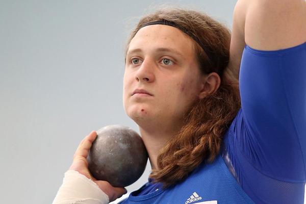 German thrower Henning Prufer (Gladys Chai)