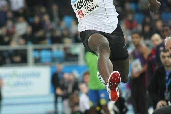 Teddy Tamgho extends his world lead to 17.64m in Lievin (Thierry Plouy)