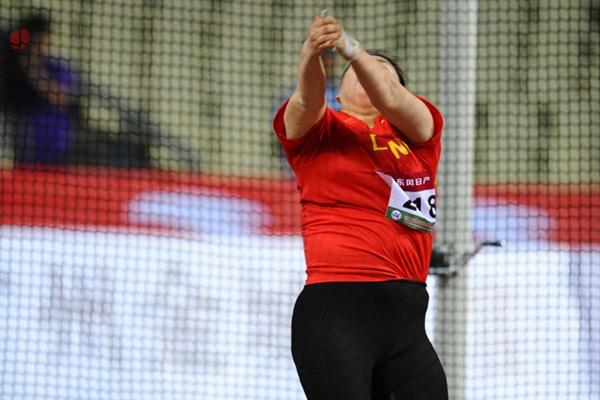 Zhang Wenxiu unleashes a champs record and takes her second Asian title in Guangzhou (Jiro Mochizuki)
