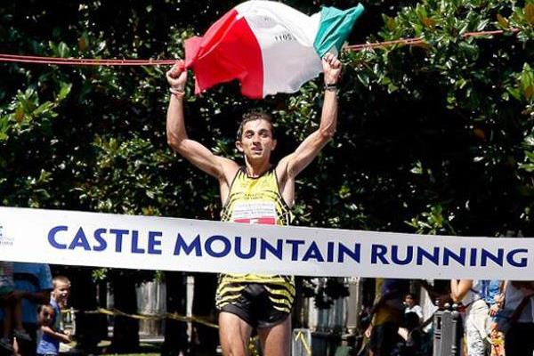 Italy's Bernard Dematteis wins the WMRA Grand Prix in Arco di Trento (Organisers)