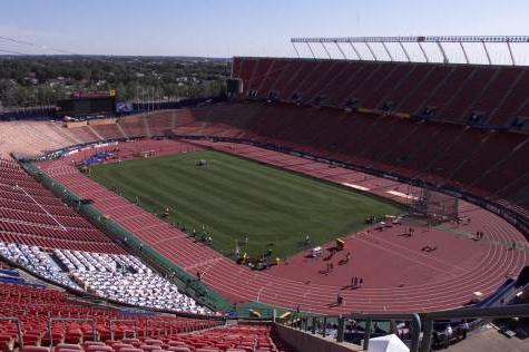 Edmonton Commonwealth Stadium (© Allsport)