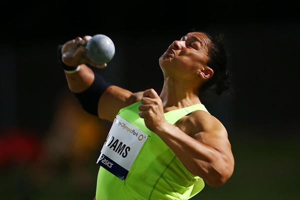 Valerie Adams breaks 20 metres in Sydney (Getty Images)