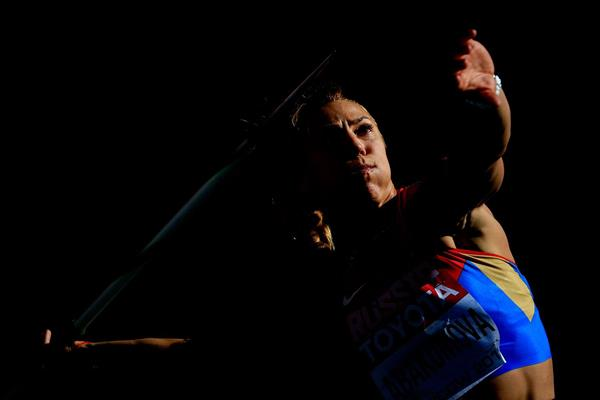 Maria Abakumova in the womens Javelin Throw at the IAAF World Championships Moscow 2013 (Getty Images)