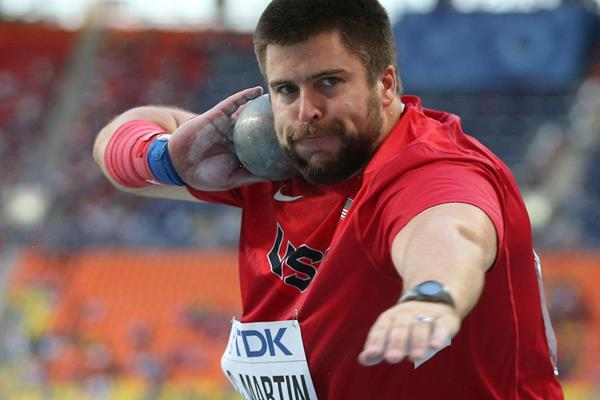 US shot putter Cory Martin (Getty Images)
