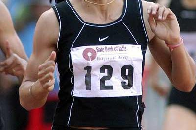 Manjeet Kaur improves the Indian women's 400m record (51.05) (Ram Murali)