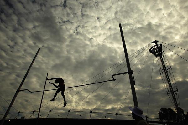 New Zealand's Eliza McCartney, national junior record-holder in the Pole Vault (Getty Images)