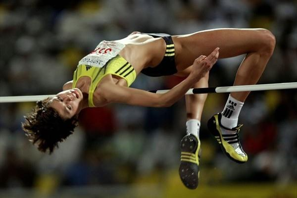 2.05m season opener for Blanka Vlasic in Doha (Getty Images/AFP)