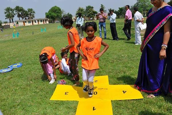 IAAF / Nestlé Kids' Athletics is activated in India (AFI)