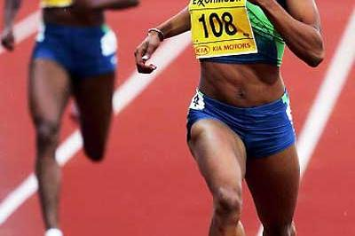 Sanya Richards in Oslo (Getty Images)