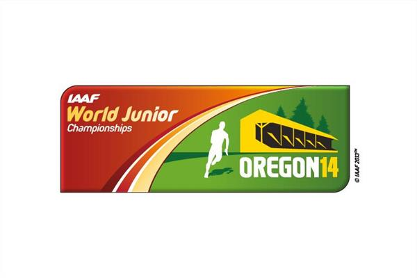 2014 IAAF World Junior Championships logo (IAAF)