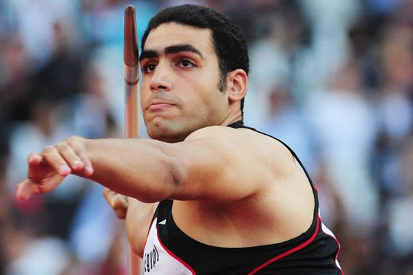 Egyptian javelin thrower Ihab Abdelrahman El Sayed (Getty Images)