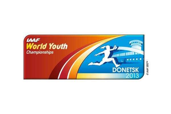 World Youth Championships Donetsk 2013 logo (IAAF)