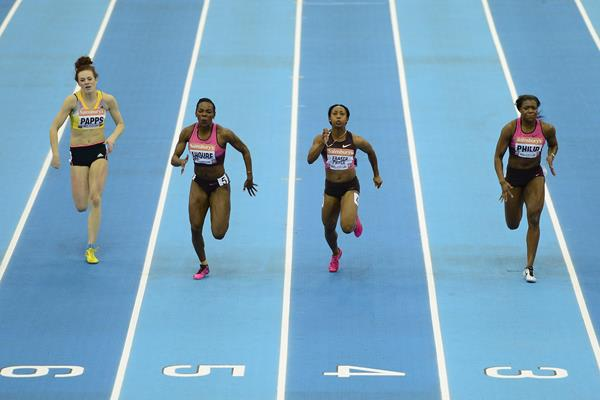 Shelly-Ann Fraser-Pryce 60m | Sainsbury's Indoor Games ()