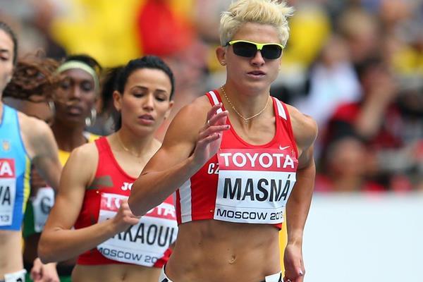 Czech middle-distance runner Lenka Masna (Getty Images)