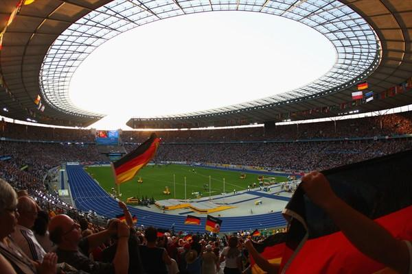 A general view of the Berlin Olympic Stadium during the 12th IAAF World Championships in Athletics (Getty Images)