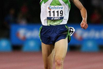 Craig Mottram winning at the 2006 IAAF WAT meeting in Melbourne (Getty Images)