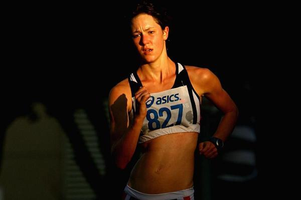 Regan Lamble - second place behind Claire Tallent at 2012 Australian 20km champs (Getty Images)