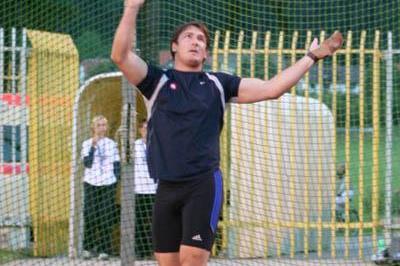 Another 80-metre throw for Primoz Kozmus in Velenje (Milenko Stanic/AZS (Slovenian Federation))