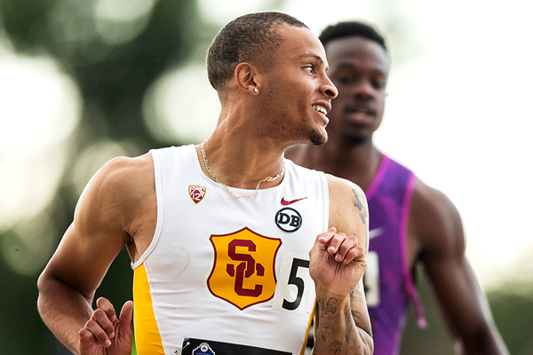 Canadian sprinter Andre De Grasse (Getty Images)