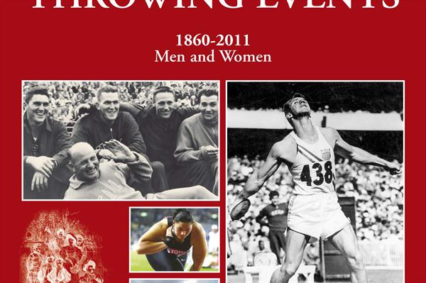 "Cover photo - ""A World History of the Throwing Events (1860-2011, Men and Women)""  (Vallardi)"