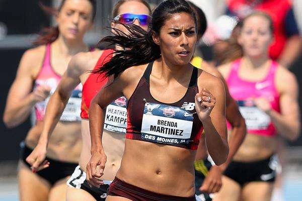 Brenda Martinez in action at the US Championships (Getty Images)