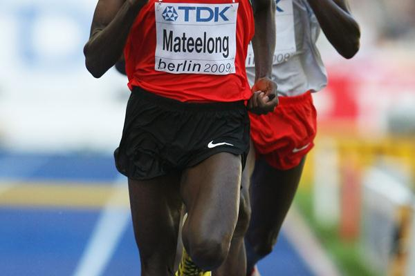 Richard Kipkemboi Mateelong of Kenya wins his heat of the men's 3000m steeplechase (Getty Images)