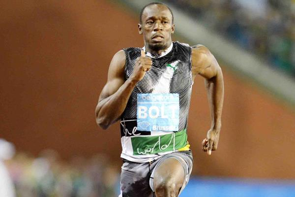 Another Brussels victory for Usain Bolt, this time in the 100m (Jiro Mochizuki)
