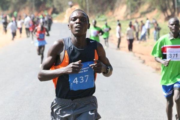 Kenneth Kimtai, winner of the 2009 Tegla Loroupe Peace Race (David Macharia)