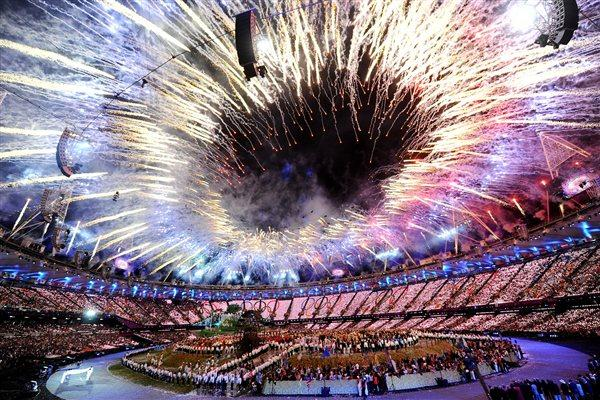 Olympic Stadium during the Opening Ceremonies of London 2012 (Getty Images)