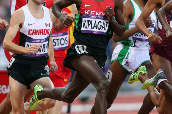Silas Kiplagat of Kenya competes in the Men's 1500m Round 1 Heats on Day 7 of the London 2012 Olympic Games at Olympic Stadium on August 3, 2012 (Getty Images)