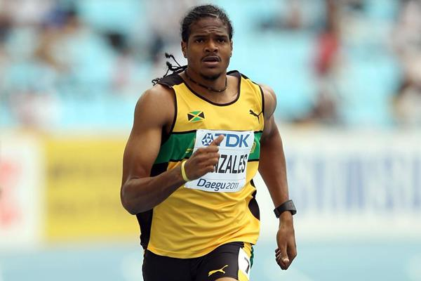 Jamaican 400m sprinter Jermaine Gonzales (Getty images)
