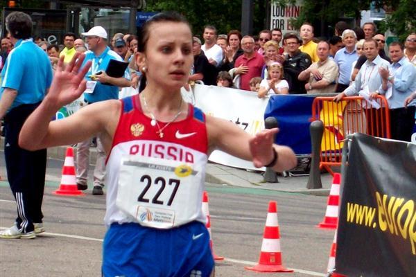 Tatyana Mineeva, the surprise winner in the junior race in Metz (Paul Warburton)