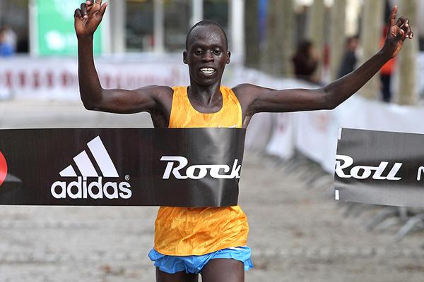 Asbel Kipsang wins the Lisbon Marathon (Organisers / Photorun.net)