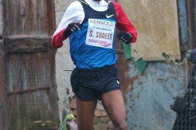 Saif Saaeed Shaheen running in the Cinque Mulini (Lorenzo Sampaolo)