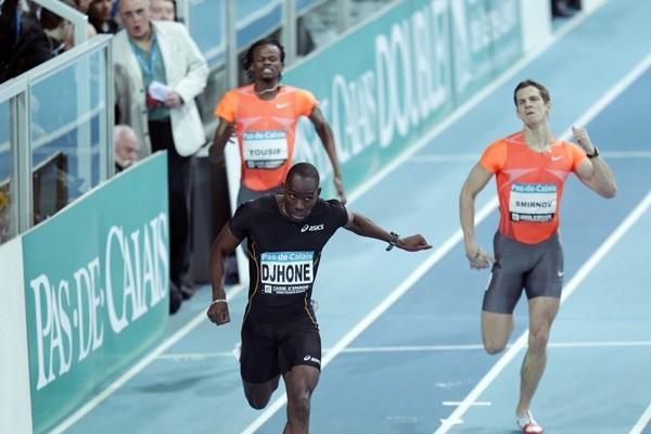 Leslie Djhone flies to European best at 300m in Liévin (Pascal Bonniere)