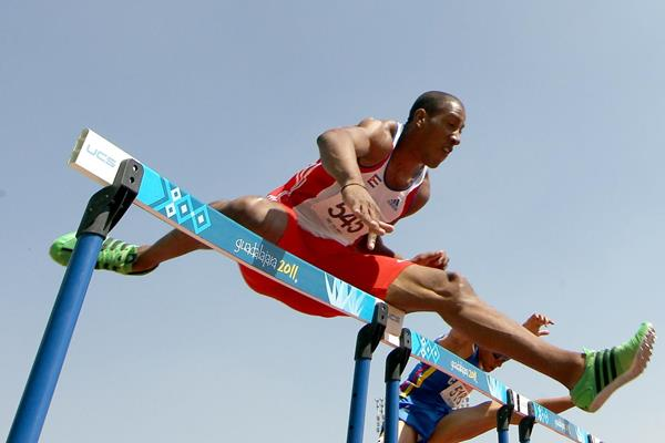 Cuban sprint hurdler Orlando Ortega (Getty Images)