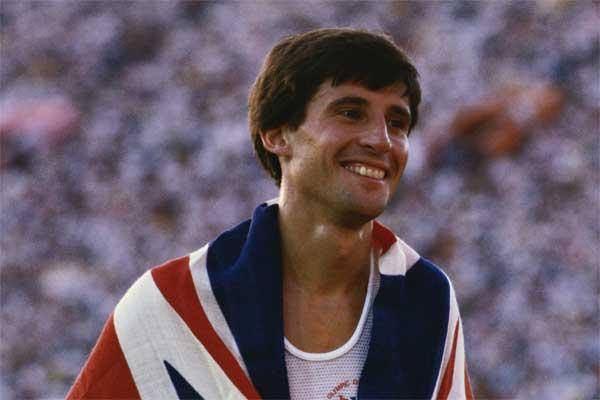 British 800m runner Seb Coe (Getty images)