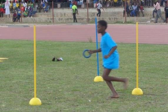The launch of the the IAAF / Nestlé Kids' Athletics programme in Zambia  (ZAAA)