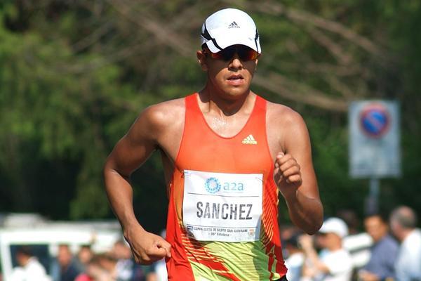 Eder Sanchez in Sesto San Giovanni (Lorenzo Sampaolo)