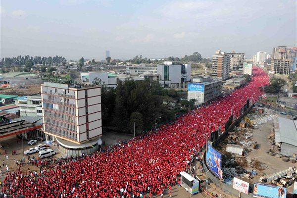 The 2011 Great Ethiopian Run (Organisers)