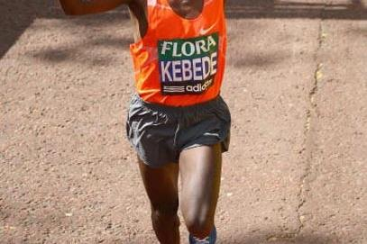 Tsegaye Kebede finishes second in the 2009 London Marathon (Getty Images)