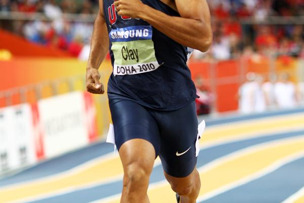 Bryan Clay of USA during the Heptathlon 1000m (Getty Images)