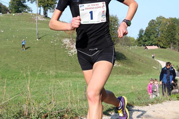 Slovenia's Mateja Kosovelj en route to her win on Smarna Gora (Organisers)