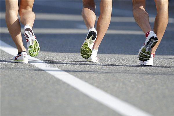 Race walking - not as easy as it looks! (Getty Images)