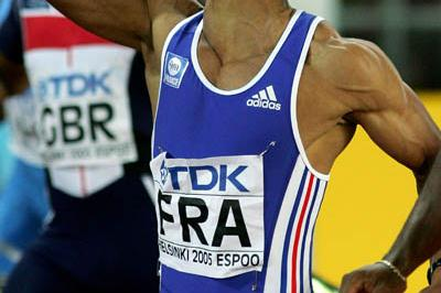 France take shock win in the men's 4x100m relay (Getty Images)