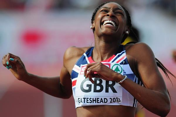 Perri Shakes-Drayton wins the 400m at the 2013 European Team Championships (Getty Images)