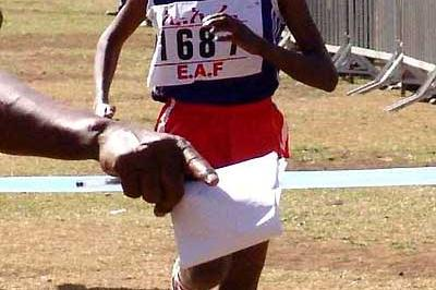Tirunesh Dibaba wins the 2005 Jan Meda Cross Country International in Addis Ababa (Nahom Tesfaye)
