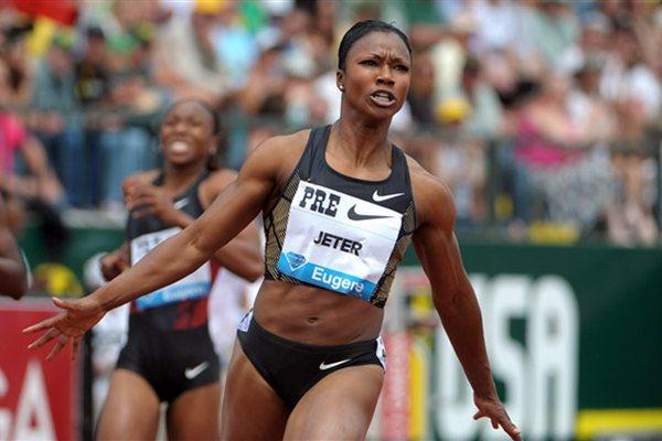 Carmelita Jeter - 10.70 in Eugene 2011 (Kirby Lee)